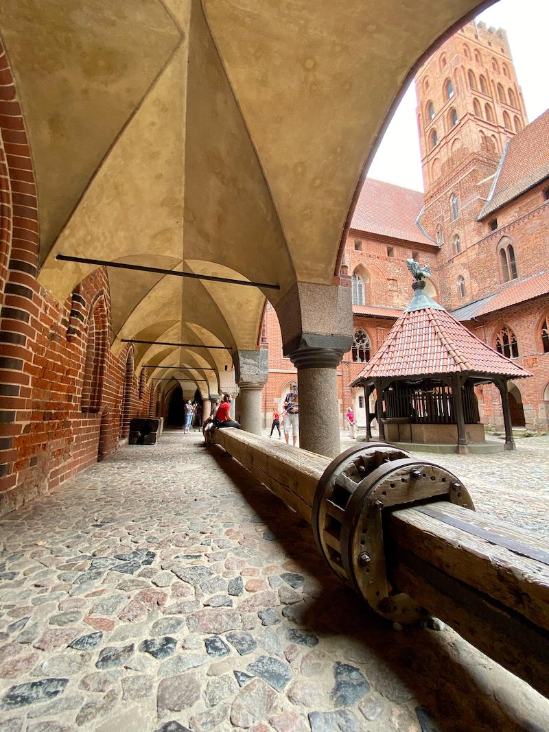 Malbork Castle, im Burginneren