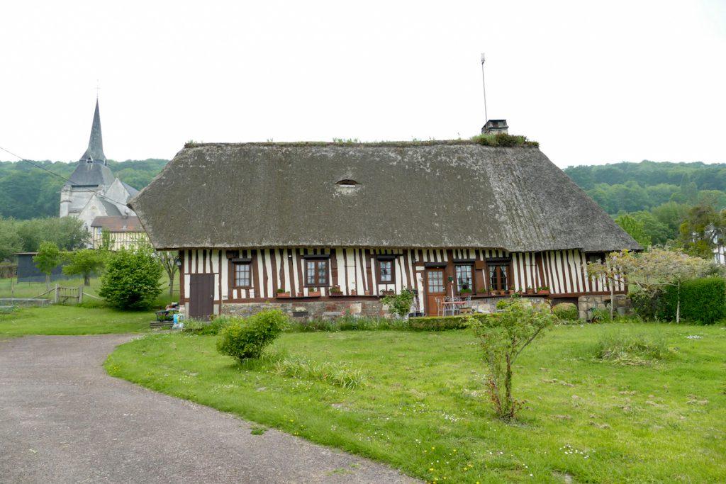 Marais-Vernier, traditionelles Bauernhaus