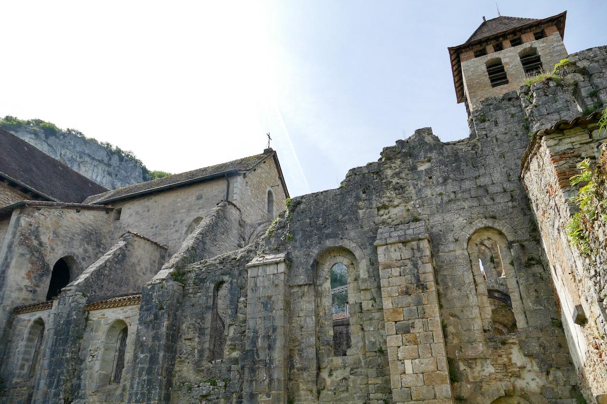 Marcilhac, Klosterruine