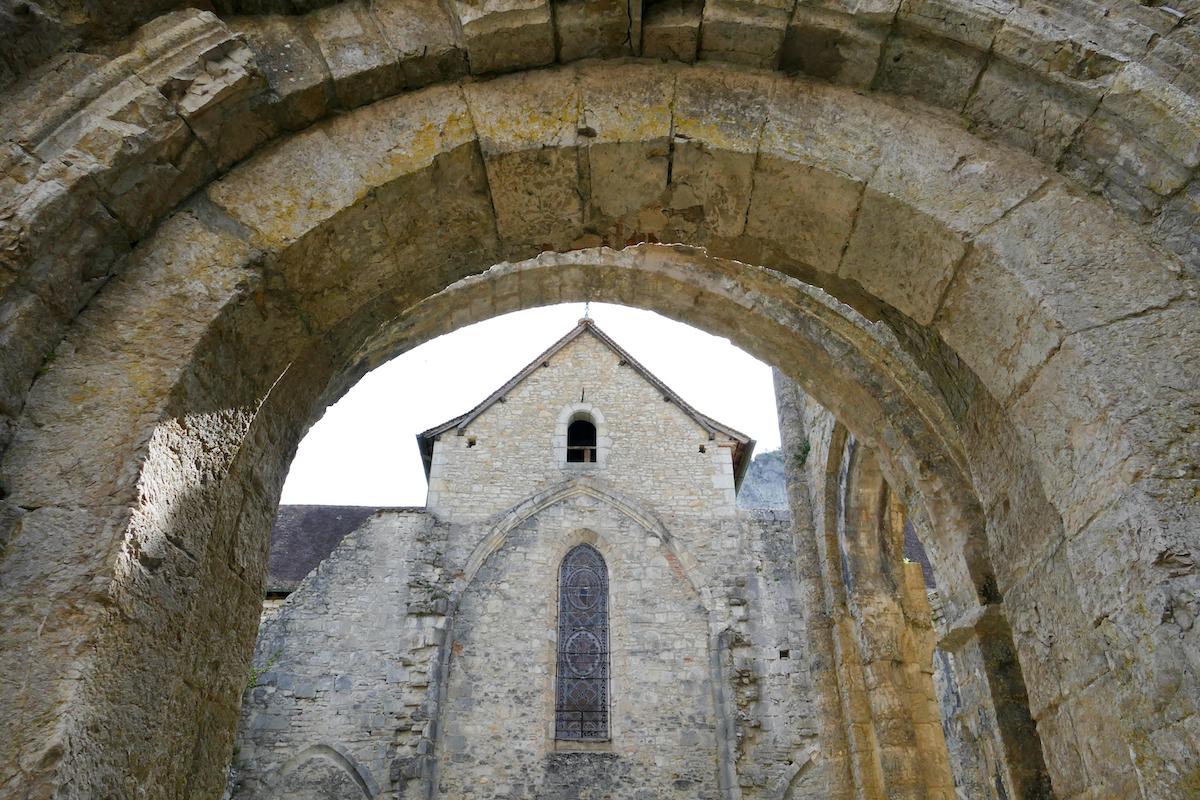 Ruine der Abtei