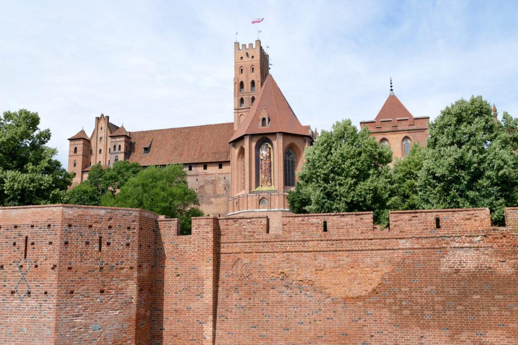 Marienburg, mittelalterliche Ordensburg
