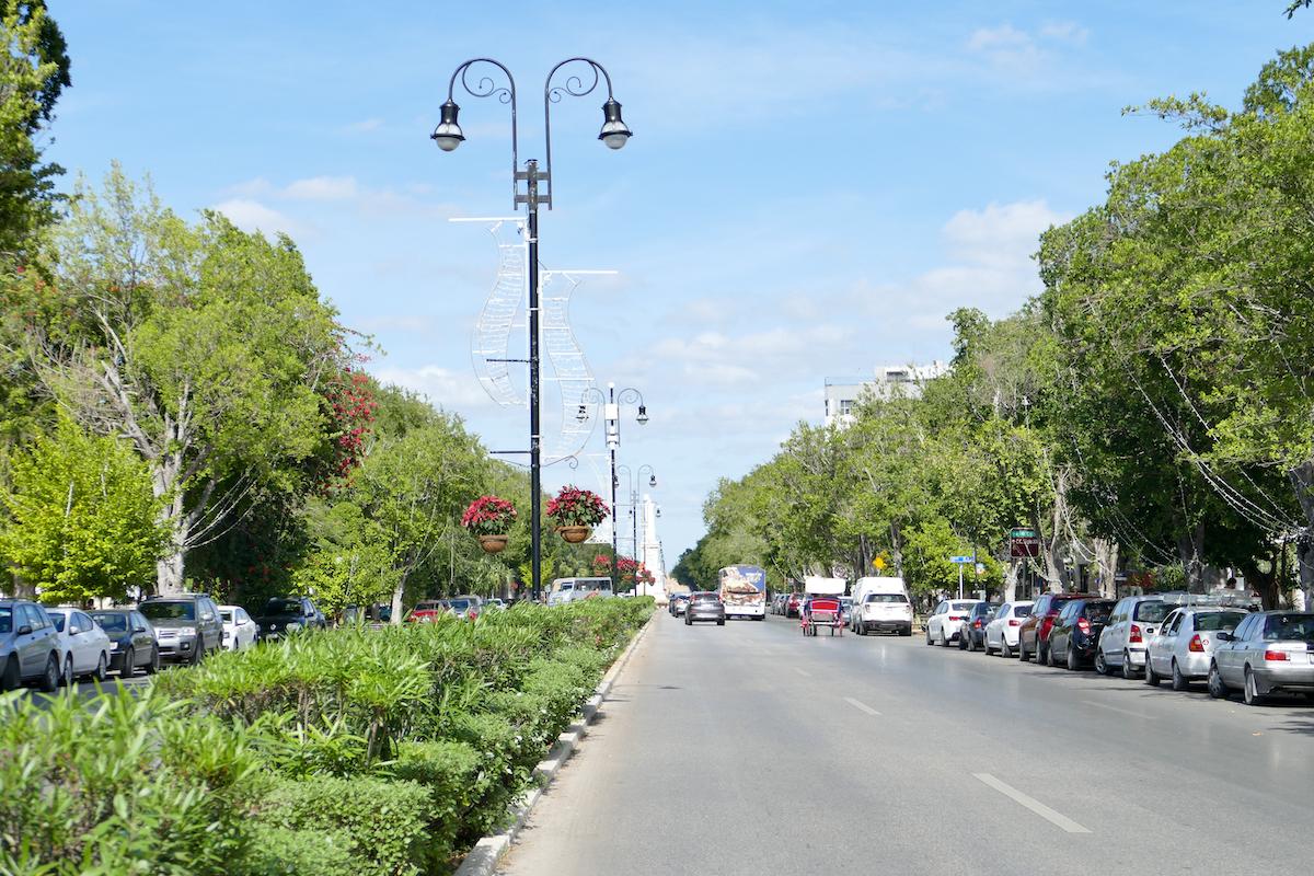 Merida, Avenida Paseo de Montejo