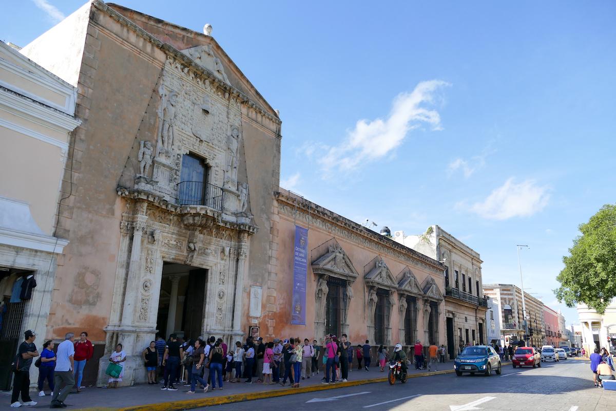 Merida, Haus des Conquistadors Montejo