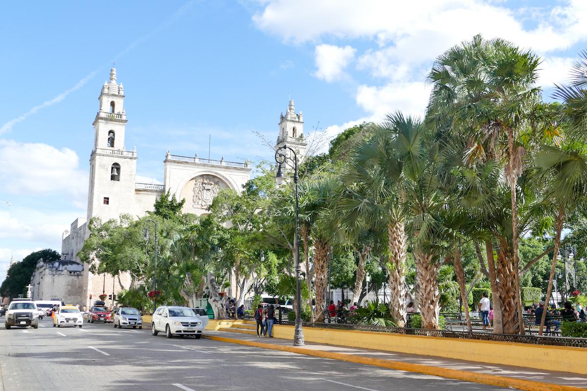 Merida, die imposante Catedral de San Idelfonso