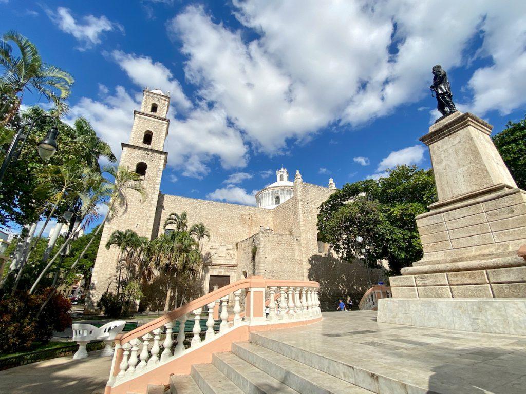 Merida, die schoene Iglesia de San Jesus