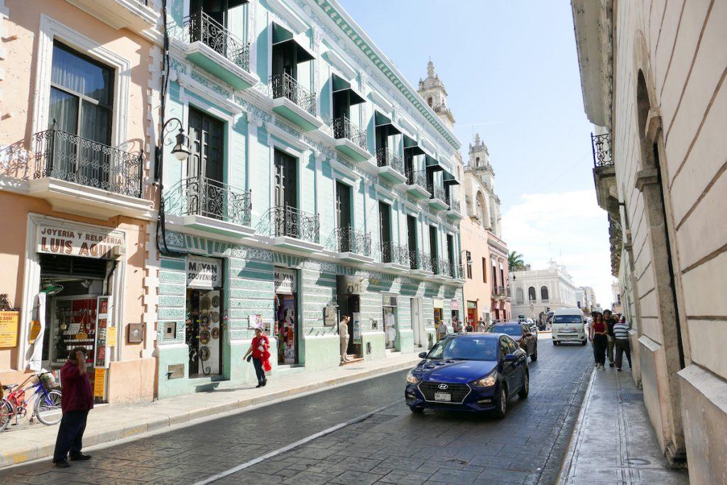 Merida, in der historischen Altstadt