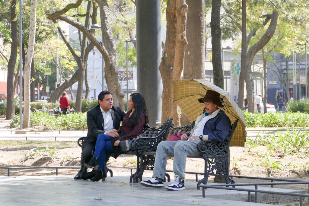 Mexico City, Alameda Park