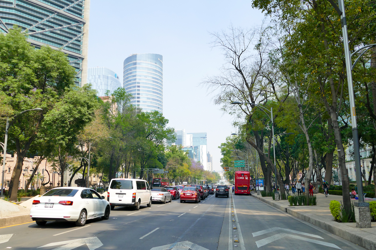 Mexico City, Av. Paseo de la Reforma