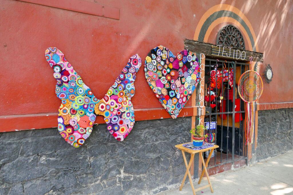 Mexico City, Coyoacan, leider nur fotografiert und nicht hineingegangen