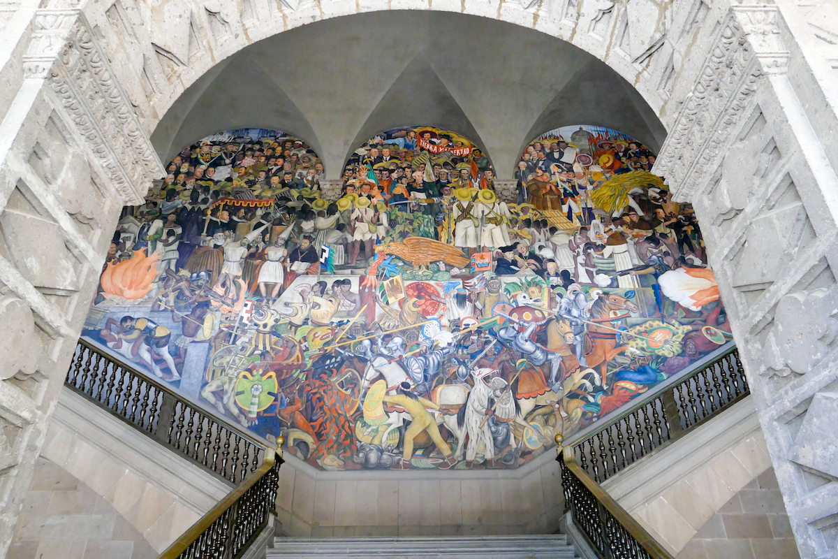 Mexico City, Diego Rivera 01