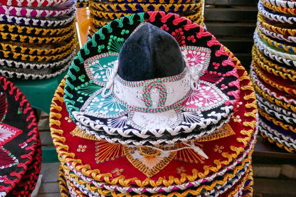 Mexico City, Kunsthandwerk, hier darf ein Sombrero natürlich nicht fehlen