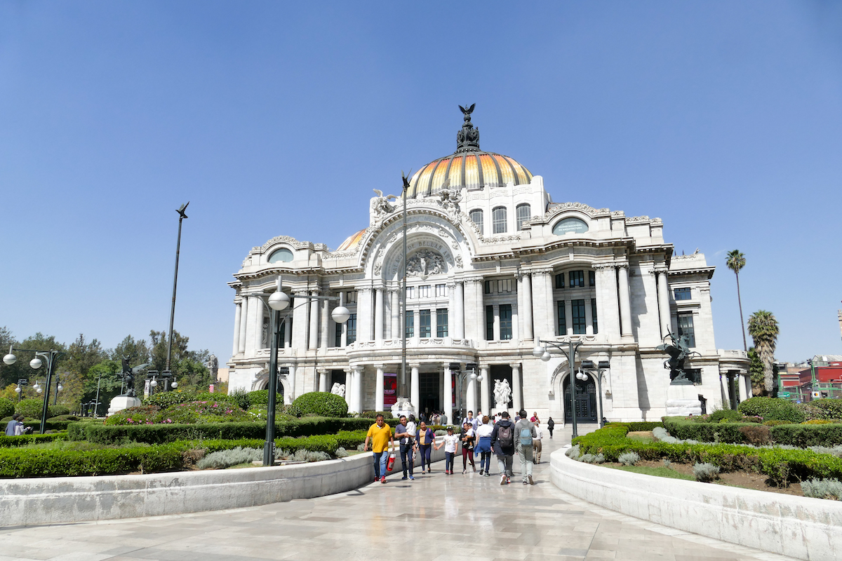 Mexico City, Palacio de Bellas Artes