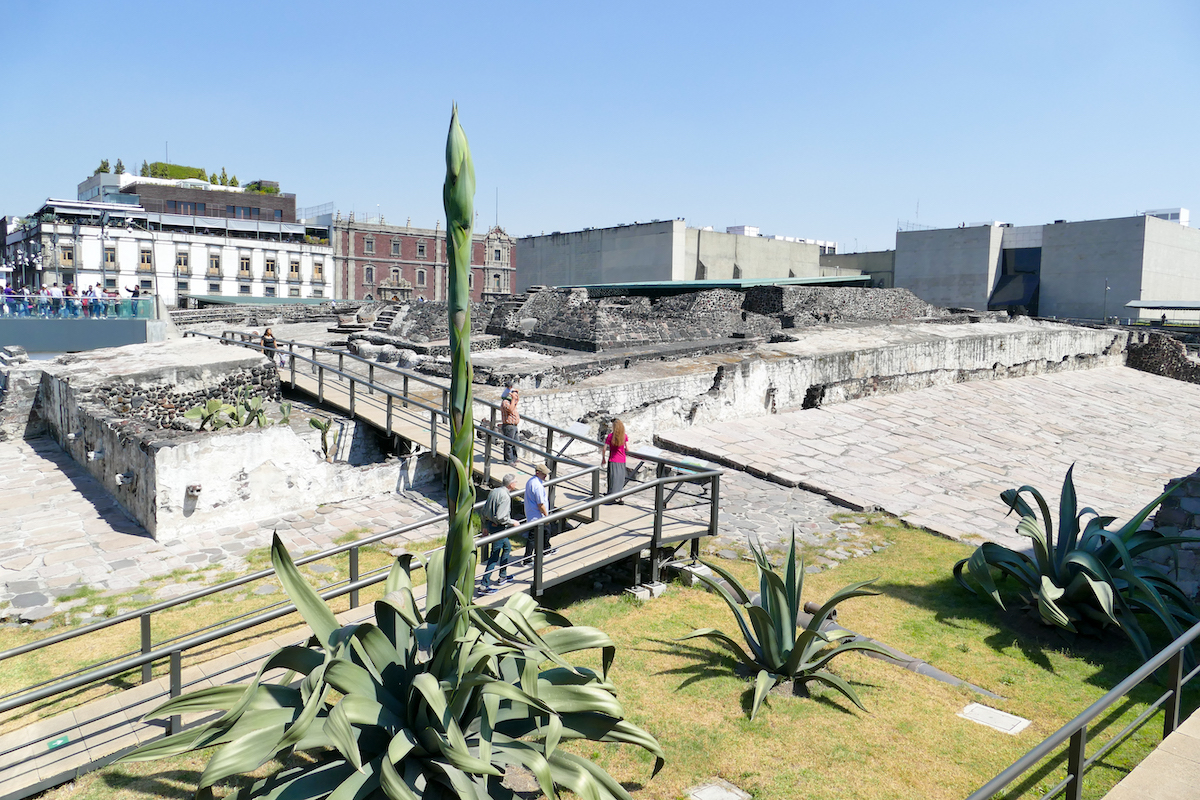 Mexico City, Technotitlan, Templo Mayor