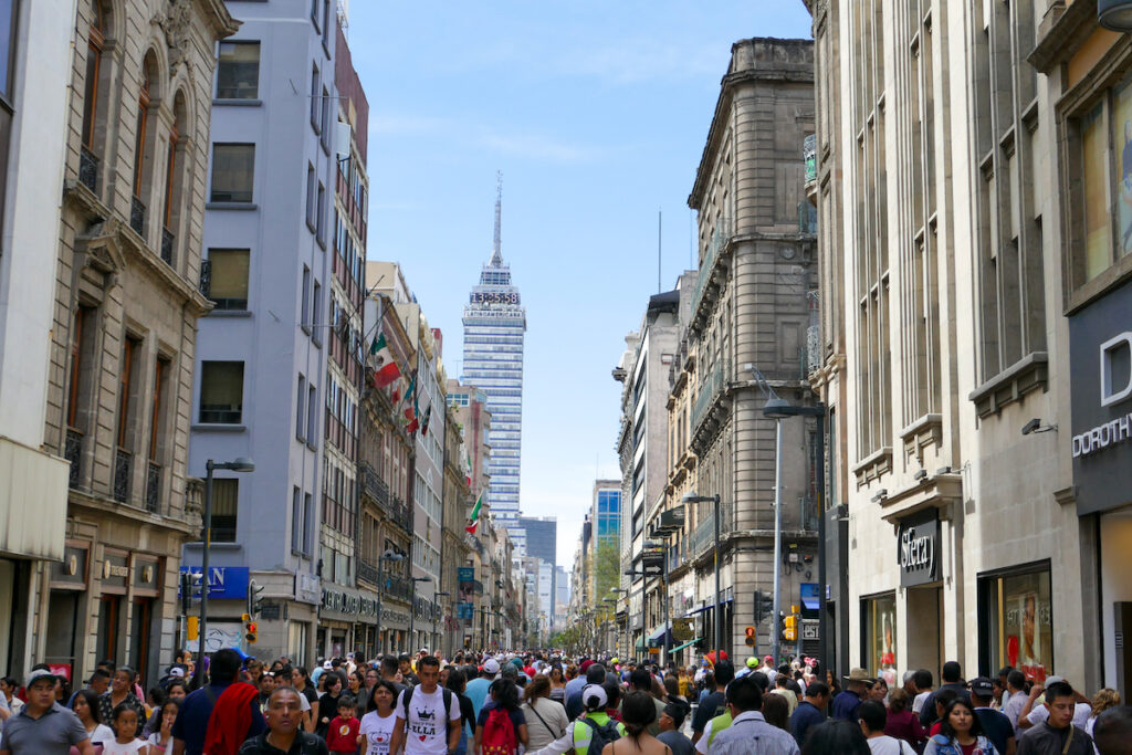Mexico City, Zentrum, Avenida Fransisco Madero