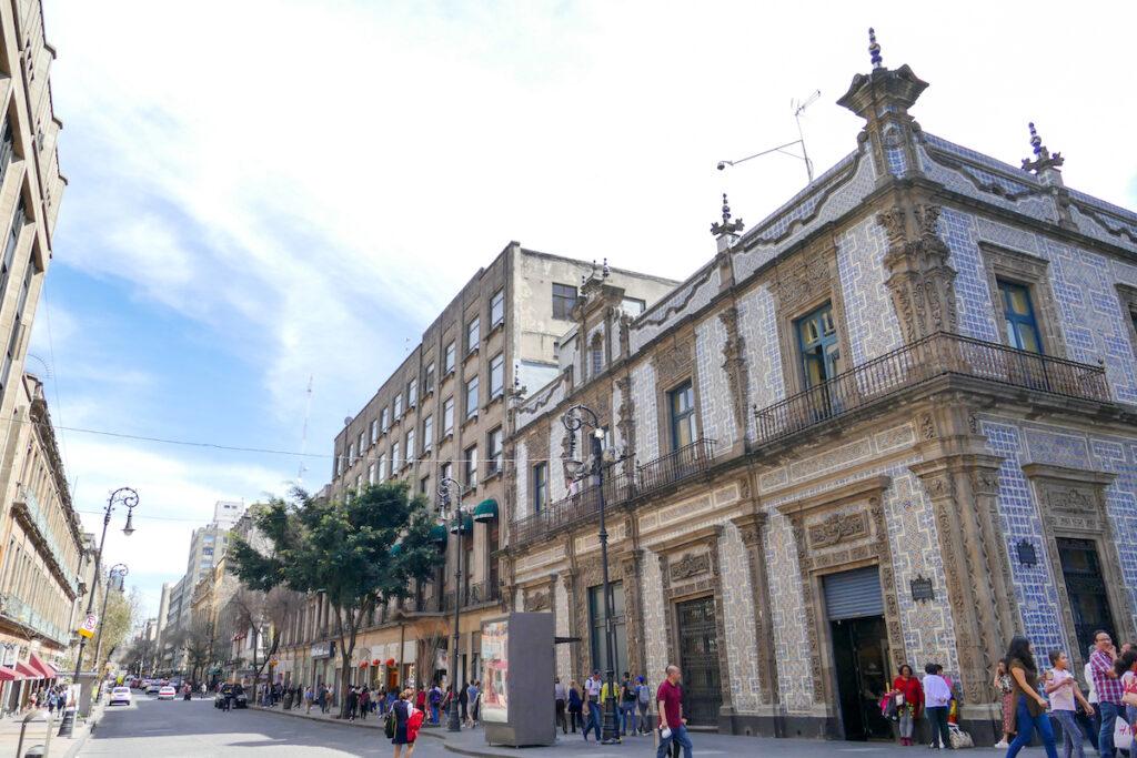 Mexico City, Zentrum, Casa de los Azulejos