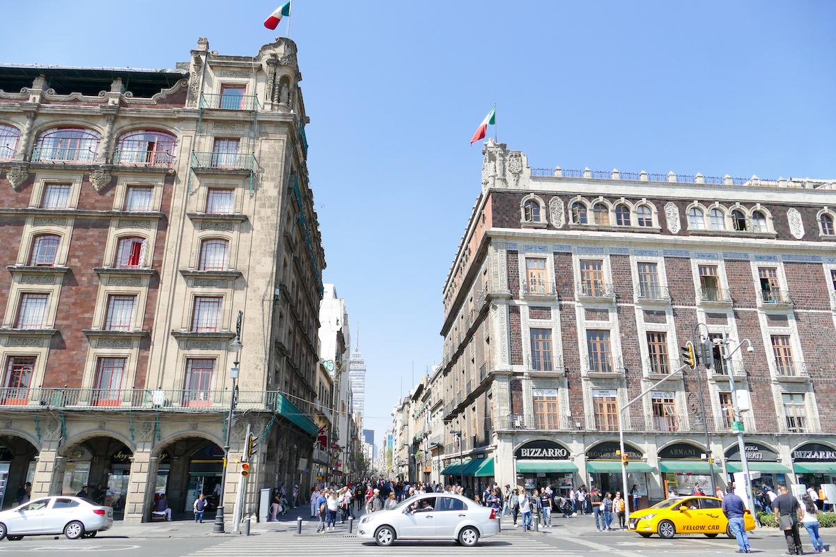 Mexico City, im Zentrum