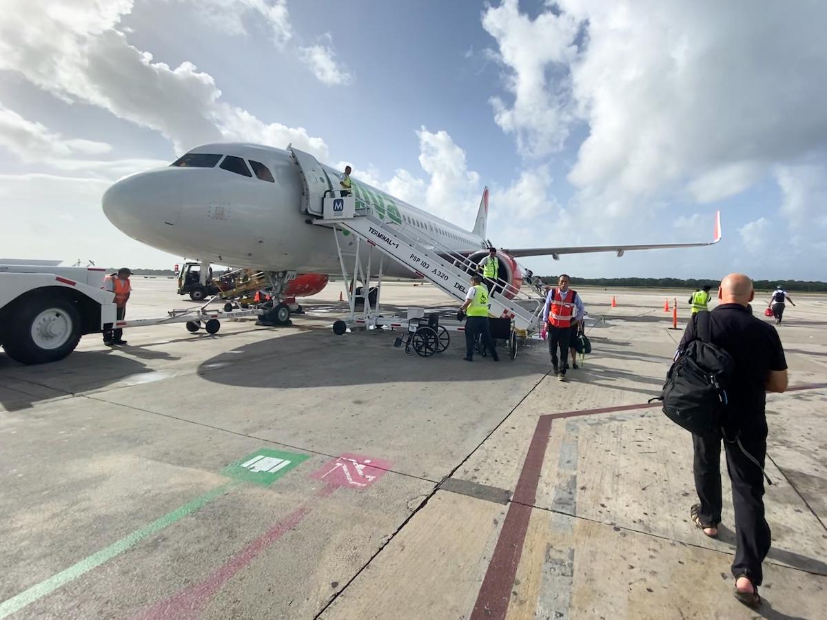 Mit Viva-Airbus von Cancun nach Villahermosa