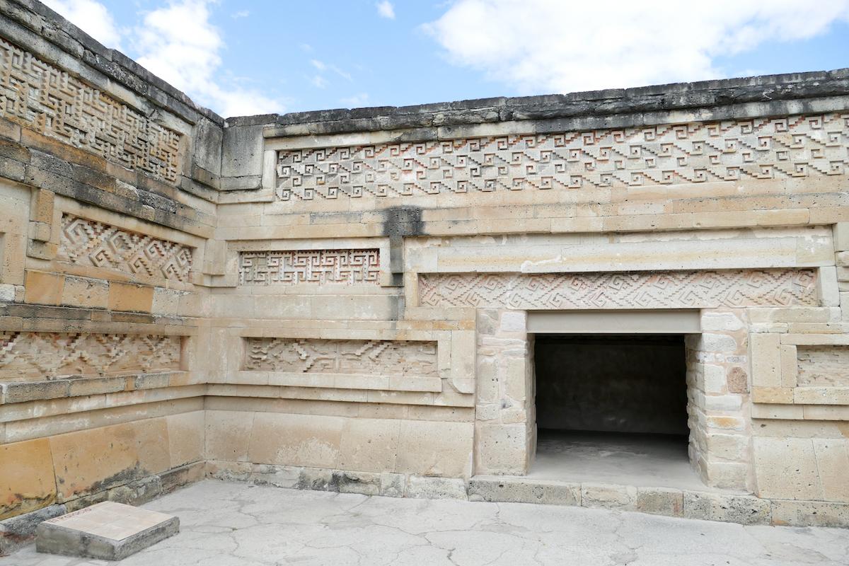 Mitla, im Palast