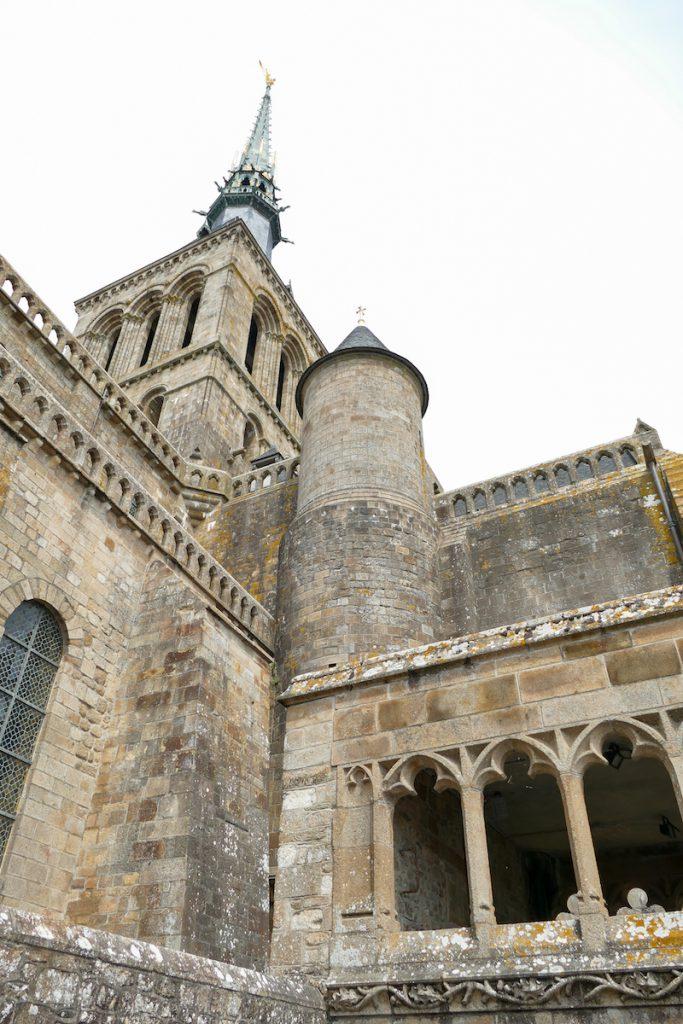 Mont Saint Michel, Abteikirche