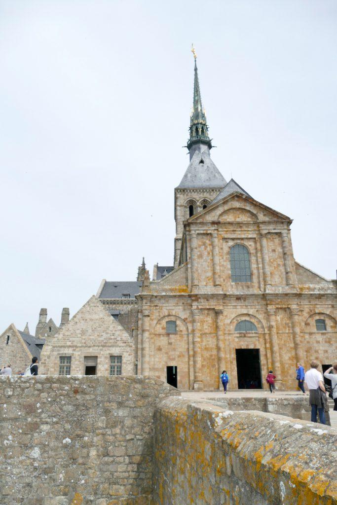 Mont Saint Michel, die Abtei