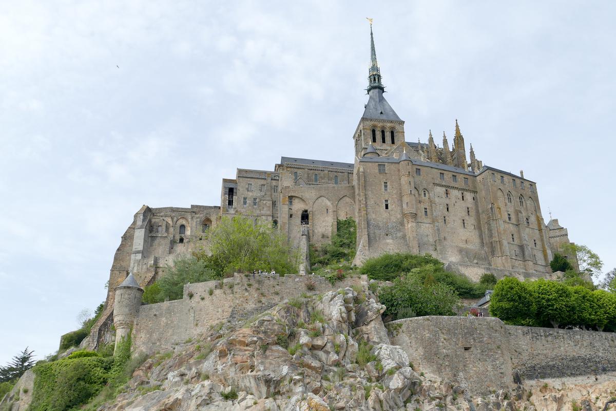 Mont Saint Michel, sehr beeindruckend