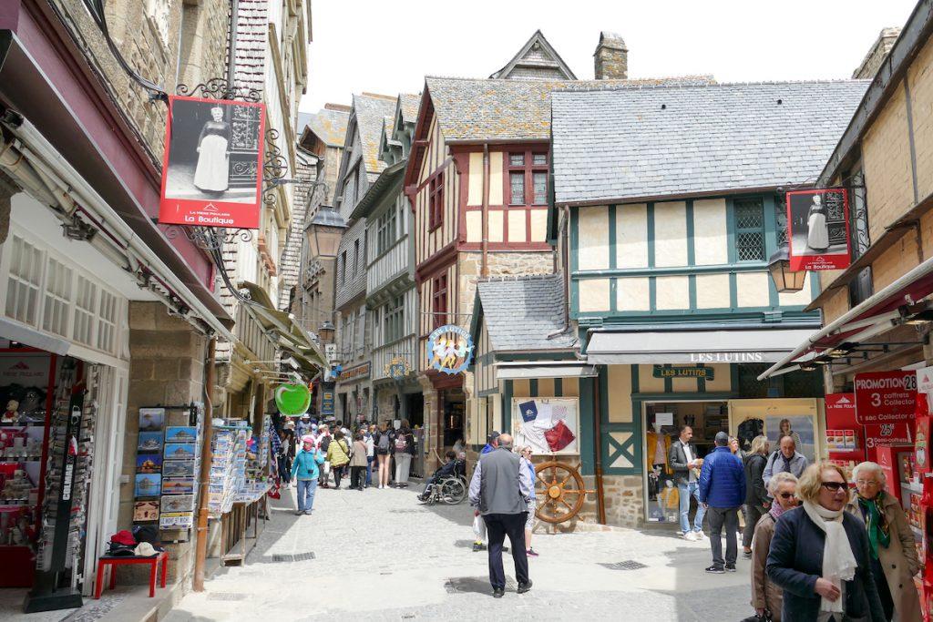 Mont Saint Michel, Grande Rue