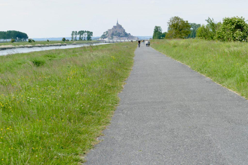 Mont Saint Michel, wir gehen zu Fuss