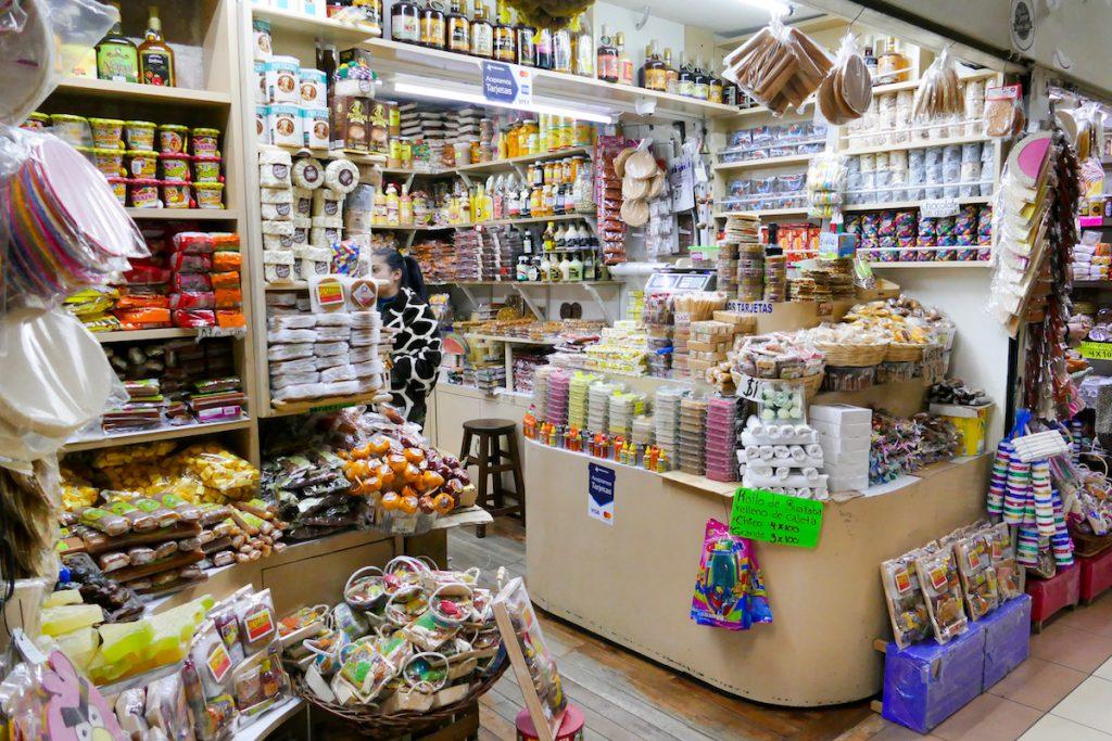 Morelia, Mercado de Dulces, so viele Versuchungen