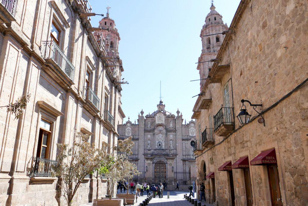 Morelia, im historischen Zentrum