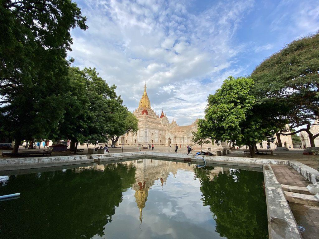 Myanmar, Bagan, Ananda Tempel