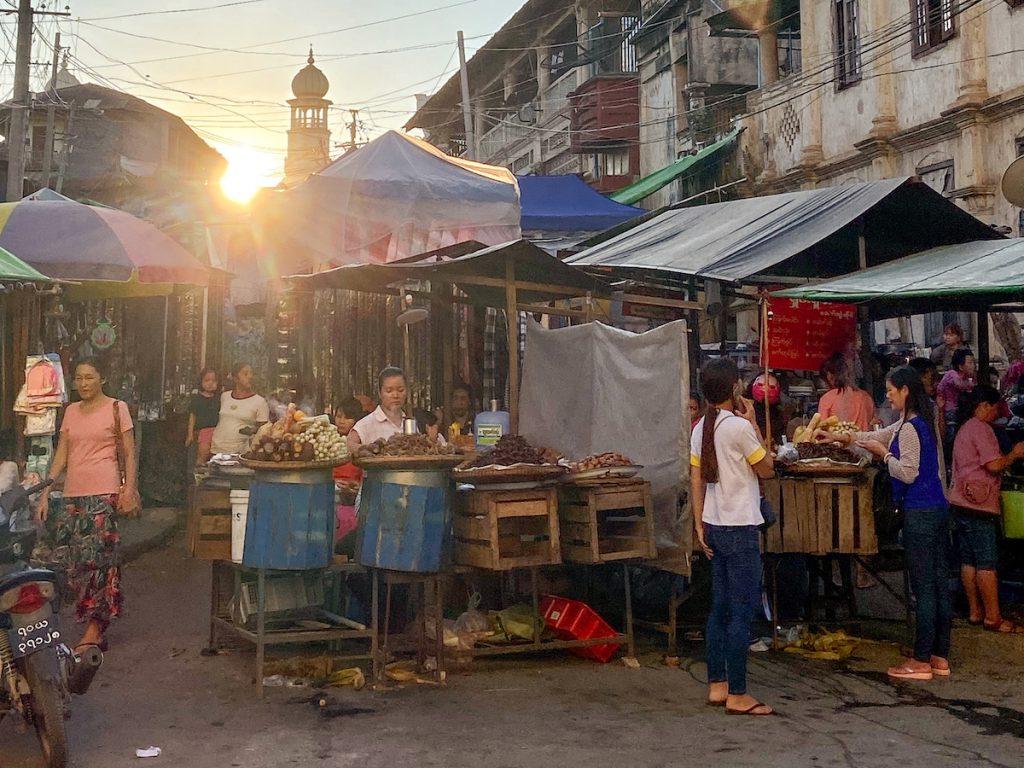 Myanmar, Lashio, Nightmarket