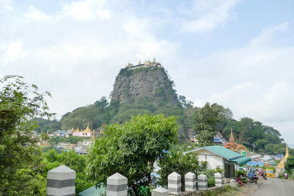 Myanmar, Mount Popa
