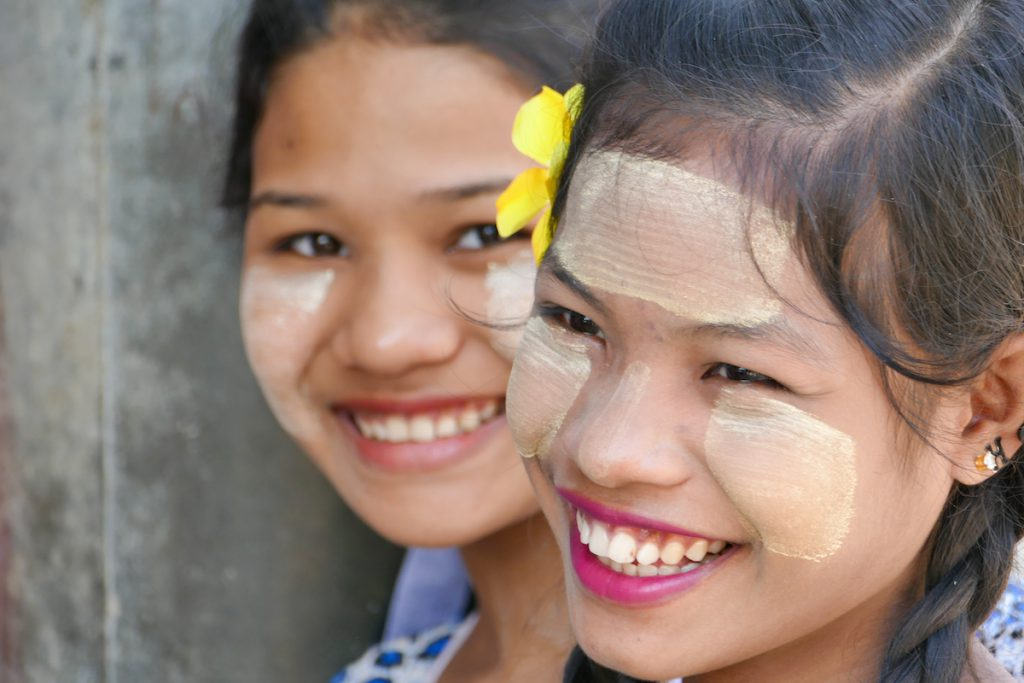 Myanmar, fuer uns das Land des Laechelns