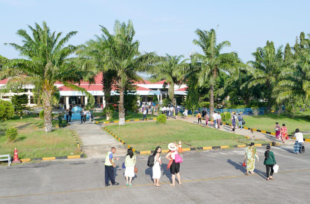 Myeik, der idyllische Flughafen