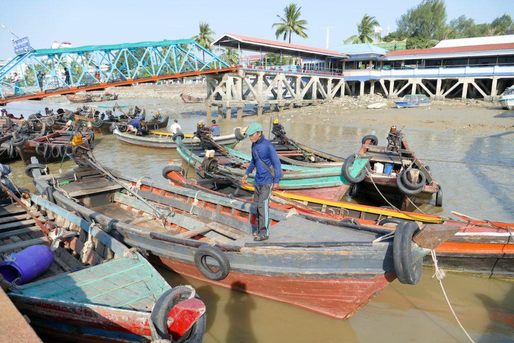 Myeik, kleine Bootsfahrt nach Pataw Island