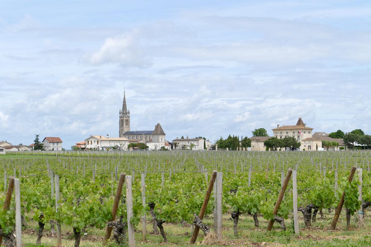 Weinanbaugebiet Les Cotes de Bordeaux