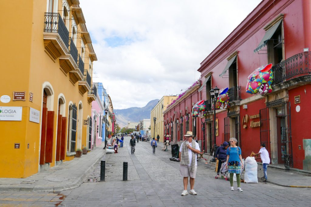 Oaxaca, Altstadt, Calle Alcala