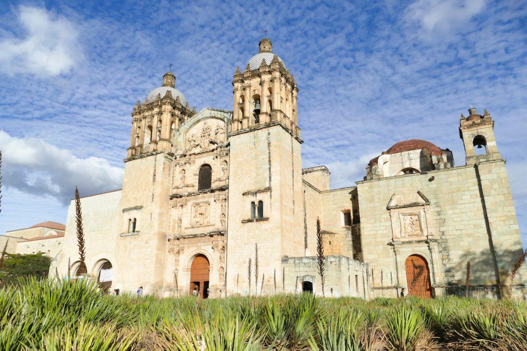 Oaxaca, Altstadt, Kathedrale de Santo Domingo