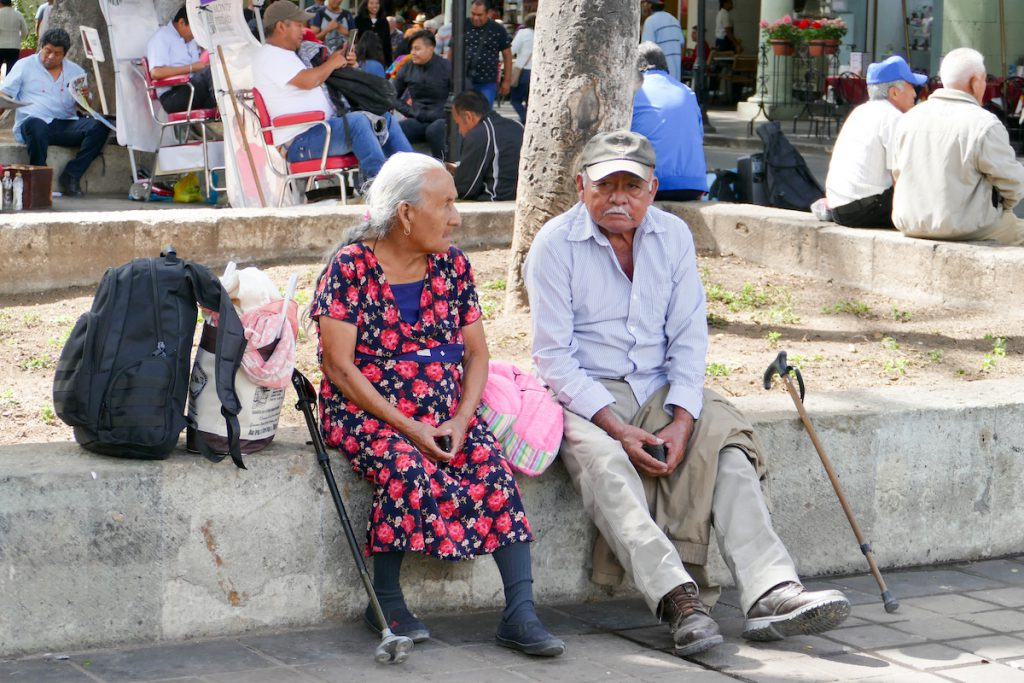 Oaxaca, Altstadt, am Zocalo