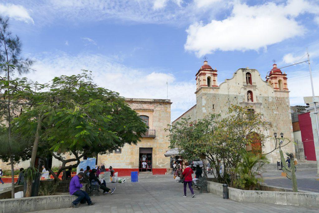 Oaxaca, Altstadt, eine der vielen Kirchen