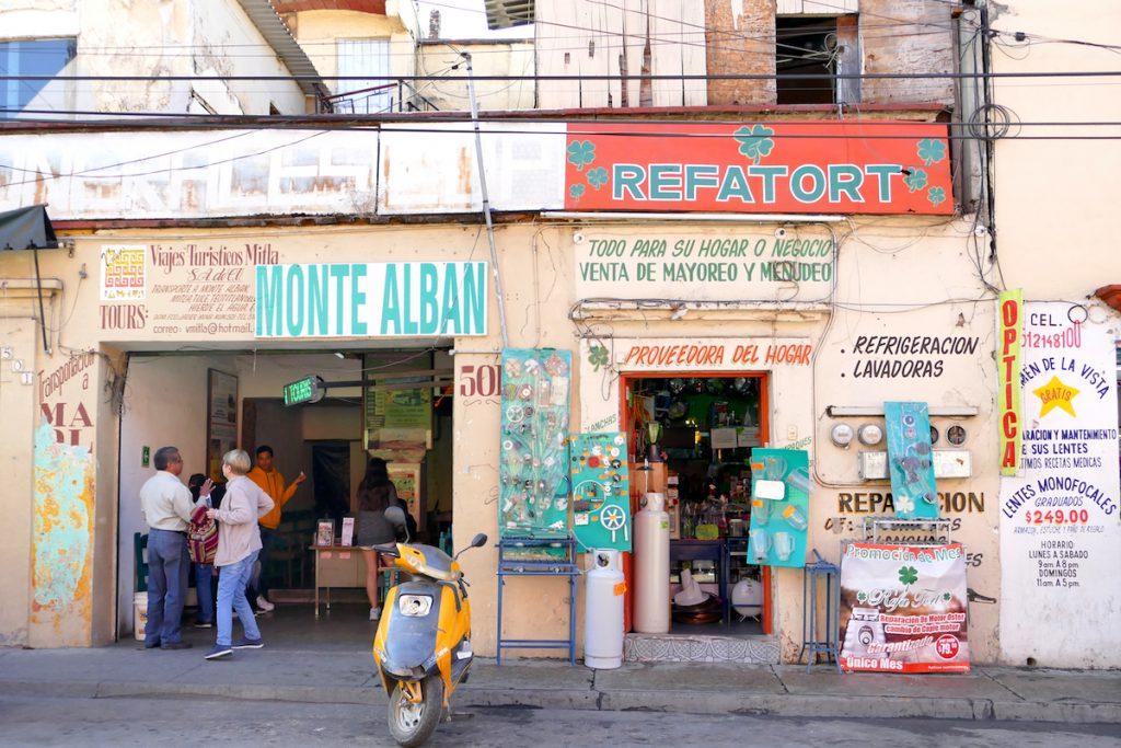 Oaxaca, Bus Terminal to Monte Alban