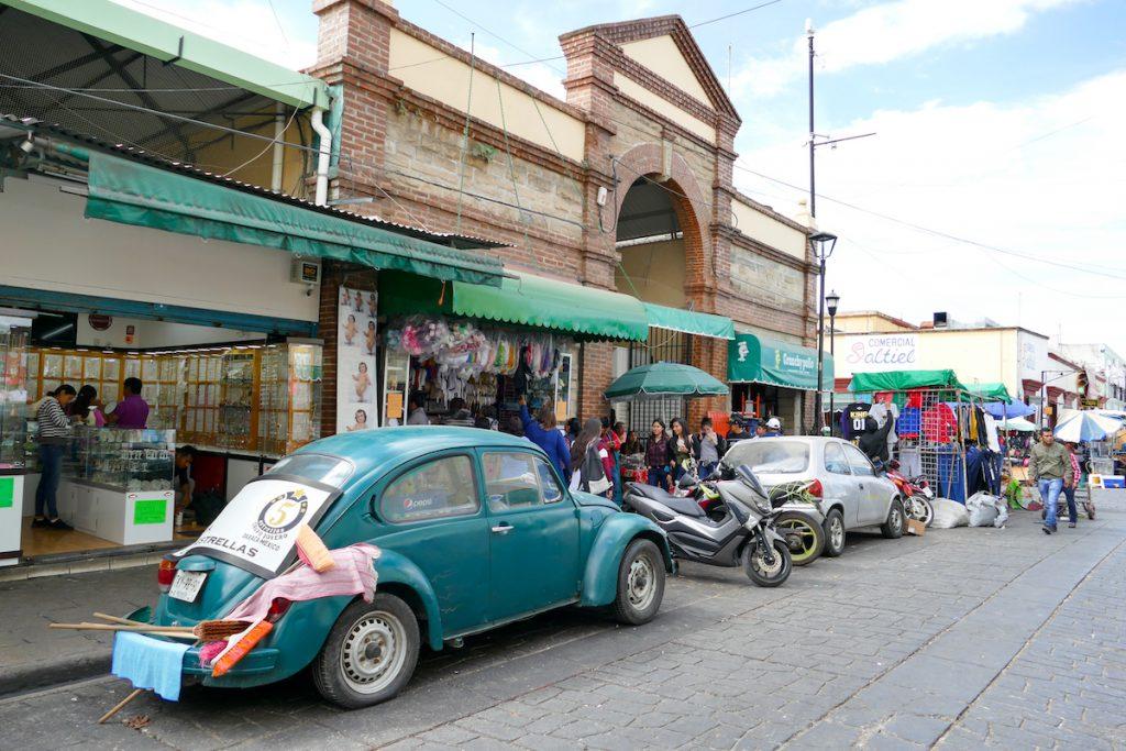 Oaxaca, Einkaufsviertel jenseits des historischen Zentrums
