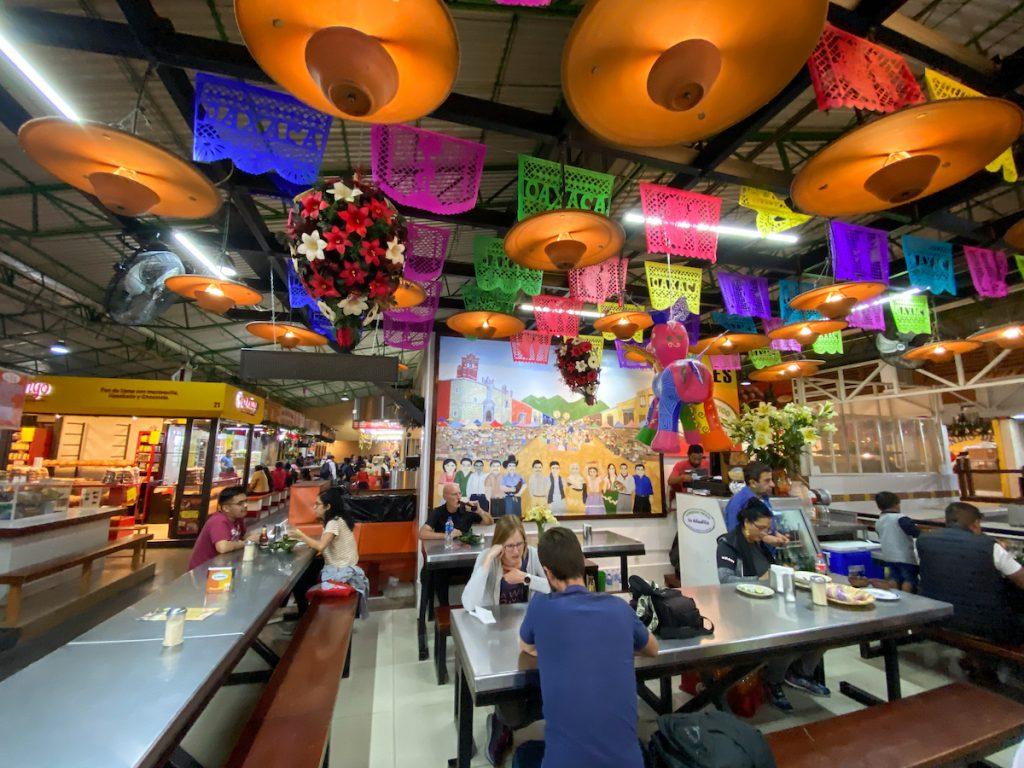 Oaxaca, Essen im Mercado 20 de Noviembre