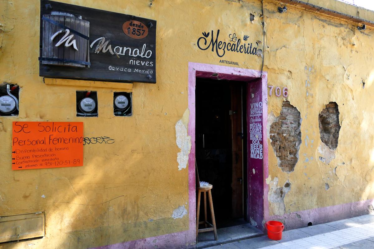 Oaxaca, Stadt des Mescal