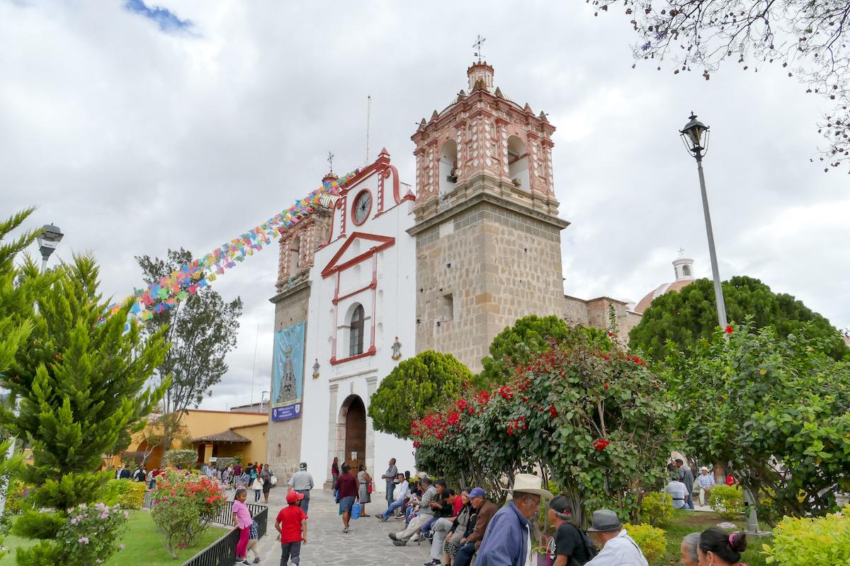 Oaxaca, Tlacolula, Kirche Maria de la Asuncion