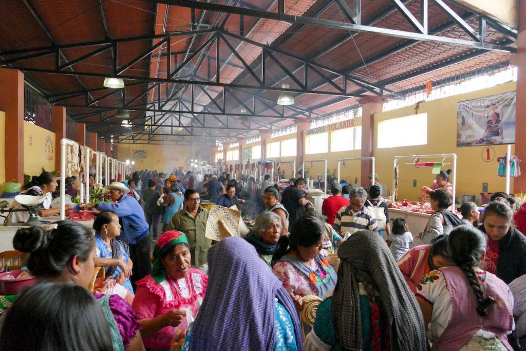 Oaxaca, Tlacolula, Markthalle