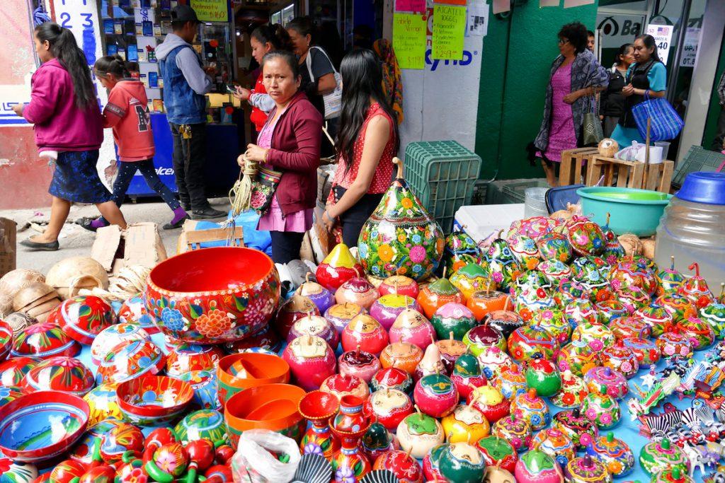 Oaxaca, Tlacolula, auch tolle Souvenirs gibt es hier
