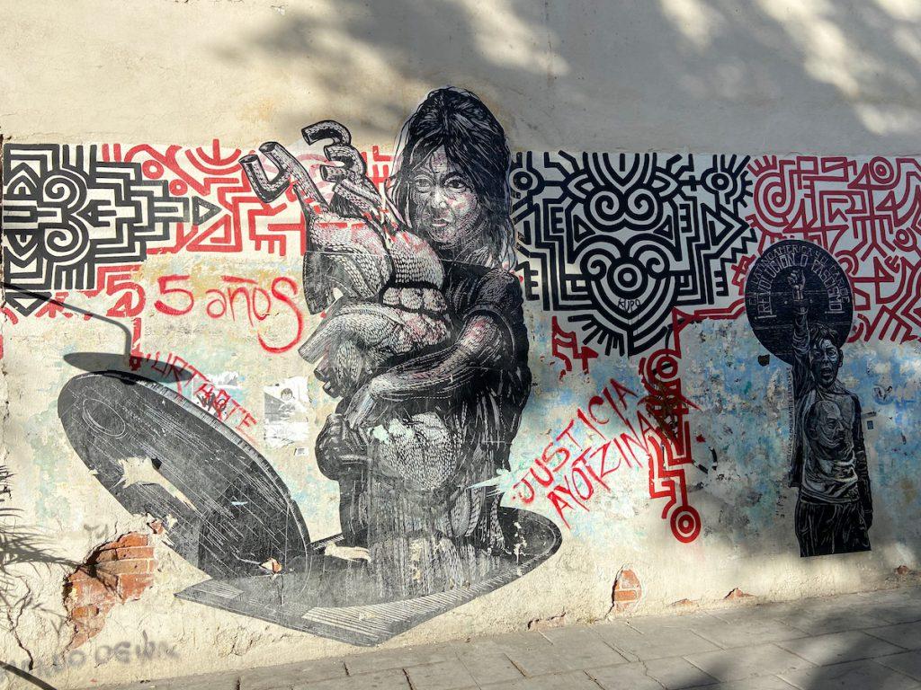 Oaxaca, Urtate Collective, die Geschichte der 43 vermissten Studenten