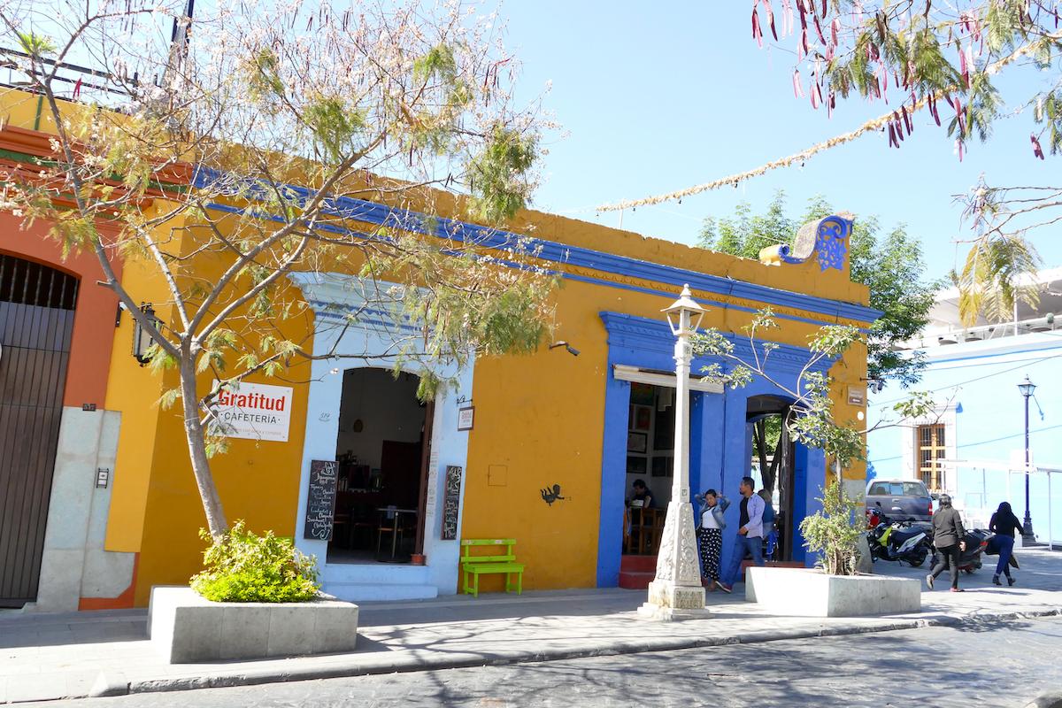 Oaxaca, am Rande der Altstadt
