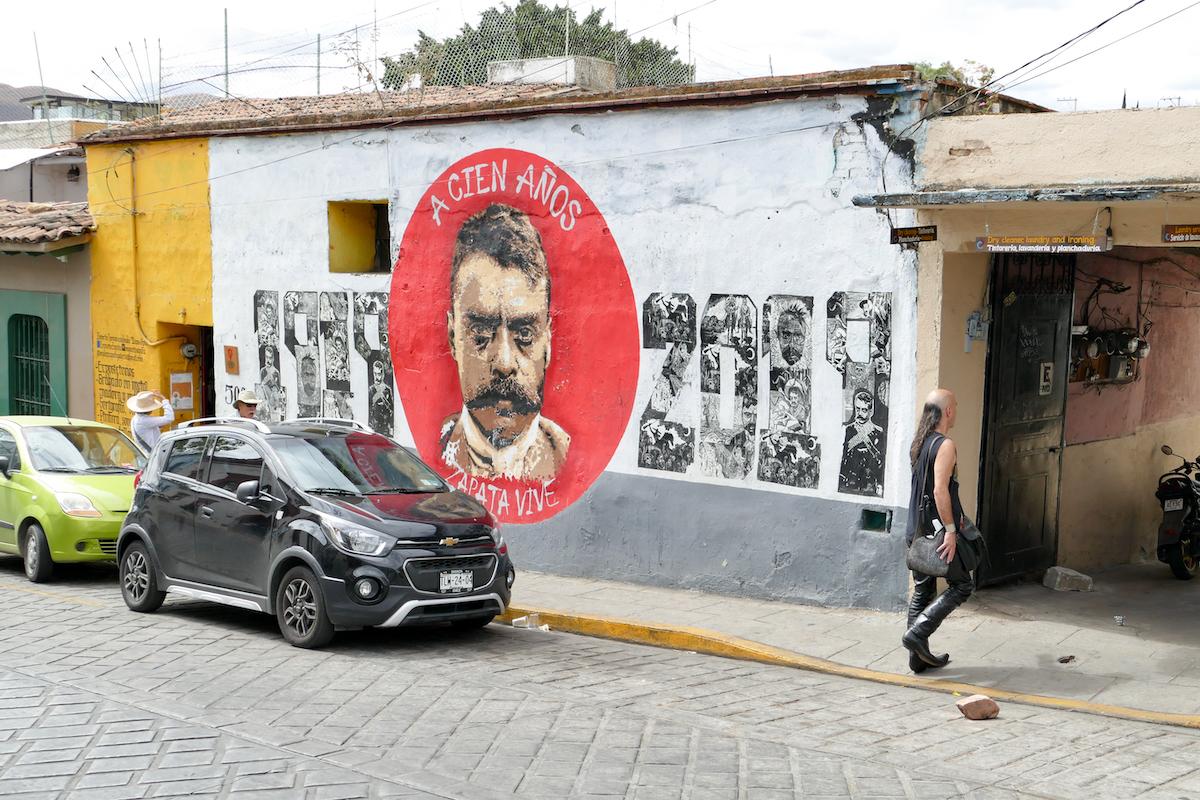 Oaxaca, beruehmt fuer seine Kunstszene